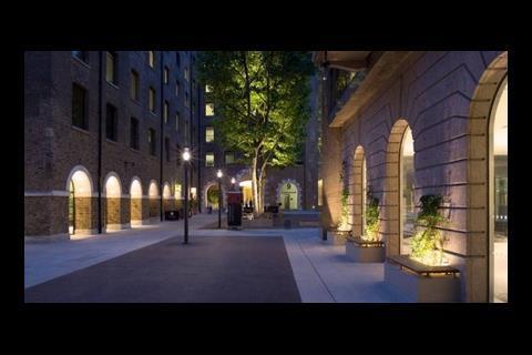 Speirs & Major Associates' lighting on Fletcher Priest's Devonshire Square development